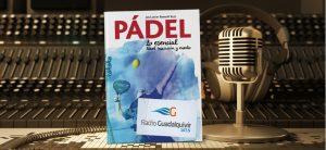 Libro de pádel, entrevista en la radio