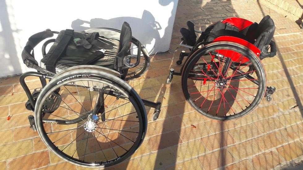 padel sillas de rueda